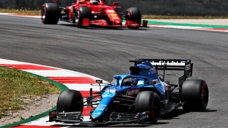 Alonso Sainz Portugal F1 2021