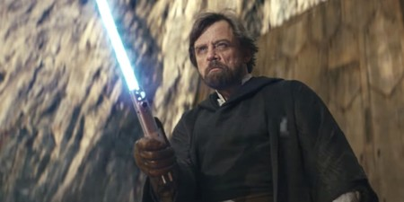 Luke Skywalker On Crait In The Last Jedi