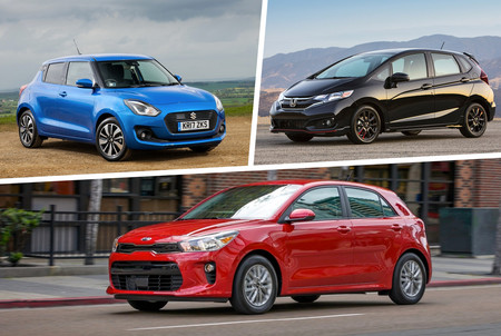Honda Fit Vs Kia Rio Vs Suzuki Swift 5