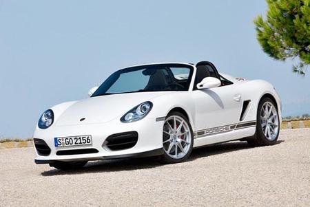 Porsche Boxster Spyder, presentación en Los Ángeles