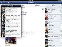 Por fin, la aplicación oficial de Facebook para iPad