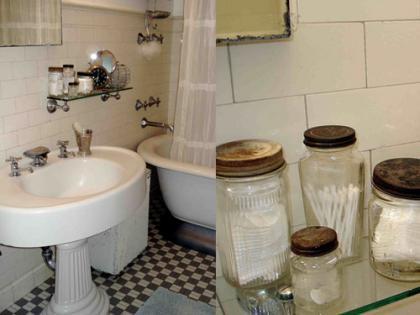 Una buena idea: Enséñalo todo también en el baño