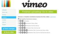 En Vimeo ya podemos aplicar licencias Creative Commons a nuestros vídeos