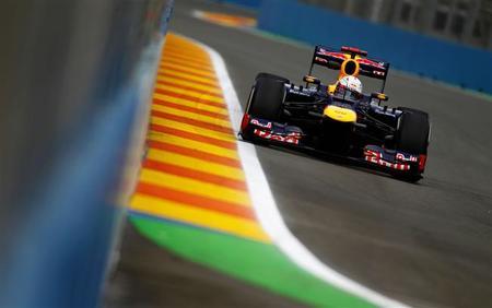 Sebastian Vettel marca el mejor tiempo del viernes