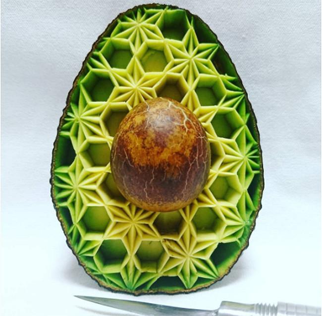 Comida de EsCultura: Los hipnotizantes tallados de alimentos de Gaku