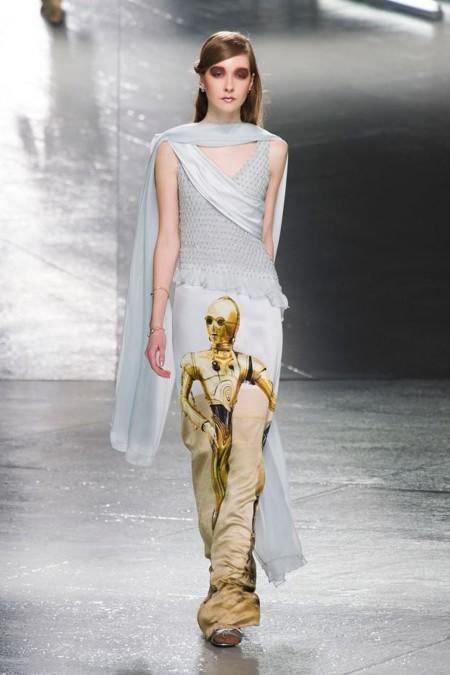 C-3PO a lo Rodarte