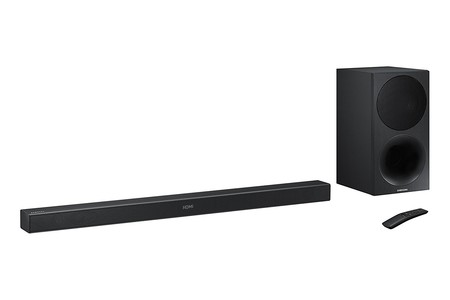 Un poquito más barata todavía: la barra de sonido Samsung HW-M450/ZF, ahora en Mediamarkt por 239 euros