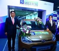 Hyundai llega en India a los cinco millones de unidades producidas