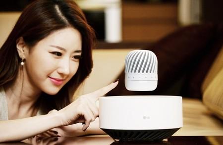 Así será el parlante flotante que mostrará LG en el CES 2017