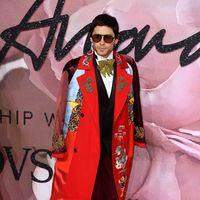 ¡Viva la originalidad! Jared Leto lo dió todo en Los British Fashion Awards