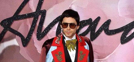 ¡Viva la originalidad! Jared Leto lo dió todo en Los British Fashion Awards