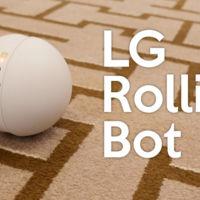 El Rolling Bot de LG te ayuda a vigilar tu casa desde el smartphone
