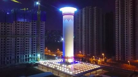 Un purificador gigante de 100 metros de altura: el último remedio chino para combatir la contaminación