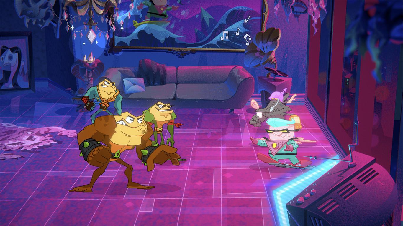 Battletoads se muestra en ocho minutos de gameplay (y espero que sea más divertido jugarlo que verlo) [GC...