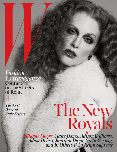 W Magazine (VI): Julianne Moore
