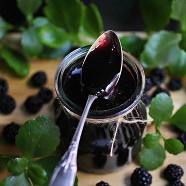 Mermelada de moras silvestres: receta tradicional