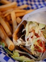 Comida rápida en Grecia: buena y barata
