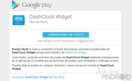 DashClock Widget