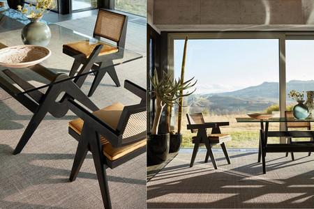 La silla más buscada y deseada del momento es de Pierre Jeanneret y Cassina la reedita junto a otros tres muebles del diseñador suizo