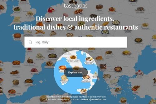 ¿Qué se come allí? El atlas gastronómico interactivo que nos ayuda a saber qué podemos comer en cualquier lugar del mundo