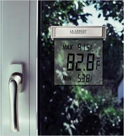 Termómetro con LCD para exteriores