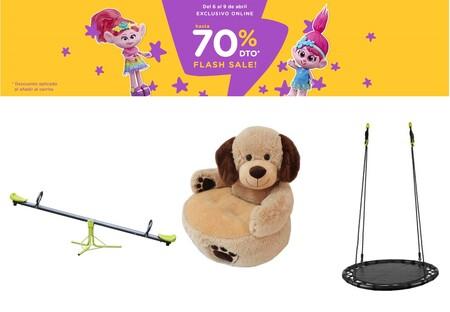 Flash Sale en Toys 'r us con descuentos de hasta el 70% en columpios, balancines y juguetes de marcas como Lego, Nerf o Playmobil