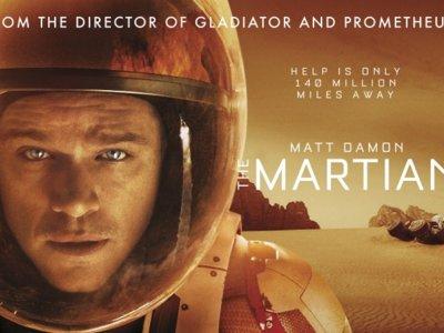 'Marte (The Martian)', la película