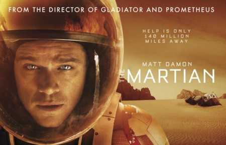'Marte (The Martian)', la película