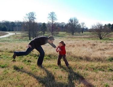 Año nuevo, buen momento para hacer ejercicio en familia