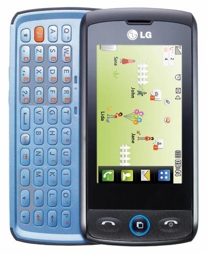 LG GW520 y LG GT505