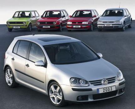 Volkswagen Golf: 25 millones de unidades fabricadas