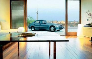 La idea del futuro: Aparcar en tu terraza