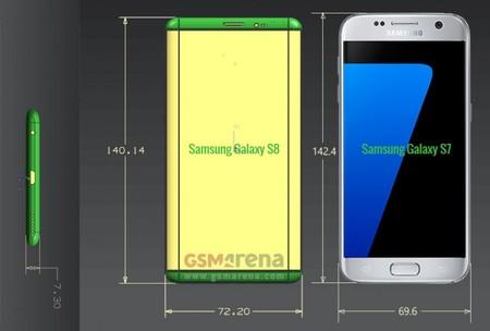 Samsung Galaxy S8 5,7 pulgadas