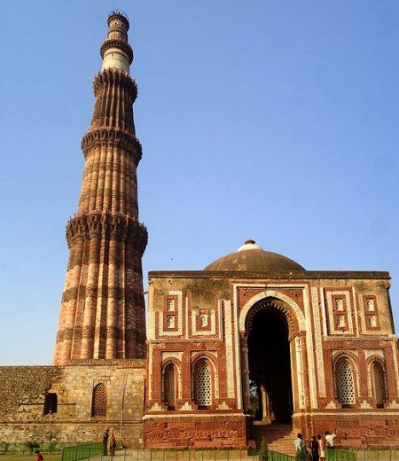 Qutab Minar, el minarete más alto del mundo