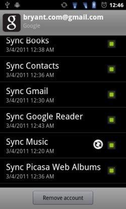 La sincronización de música en la nube con Android es ya un hecho
