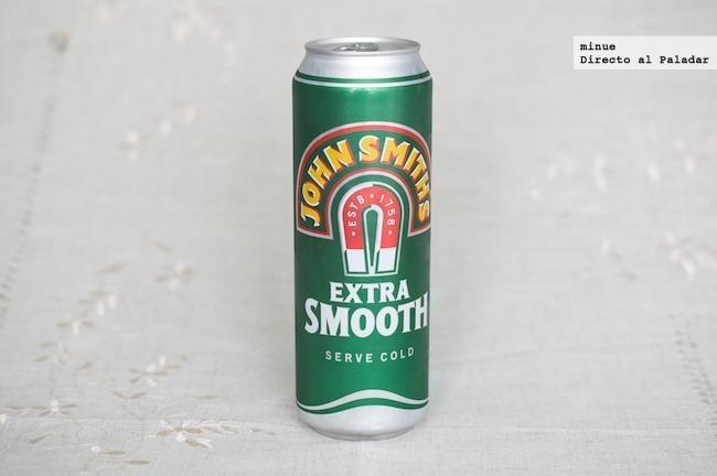 Cata de cerveza John Smith's - lata