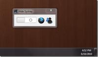 Esconde los iconos de la barra de sistema en Windows 7