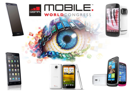 Los cinco teléfonos del Mobile World Congress 2012
