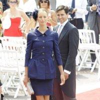 Comienzan los primeros invitados en la Boda Real de Mónaco: las modelos Karolina Kurkova y Silvia Silvstedt