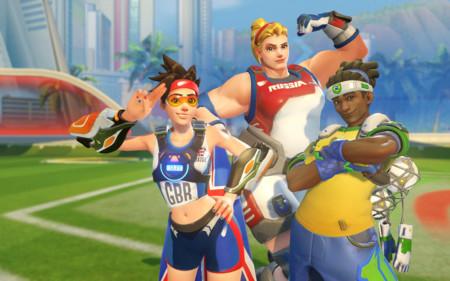 Overwatch celebra las Olimpiadas con... ¿su propia versión de Rocket League? ¡Llega el Lúciobol!