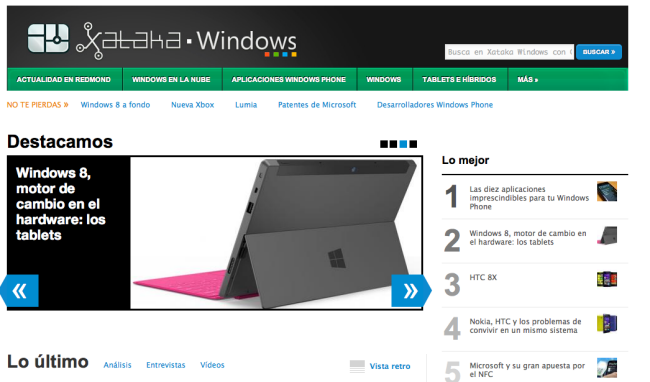 Xataka Windows ya está aquí
