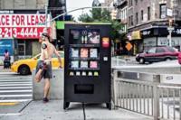 Una original máquina expendedora que sólo acepta puntos de la Nike+ Fuelband