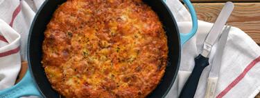 Cómo hacer una pizza para hornear en sartén: de base crujiente y miga esponjosa