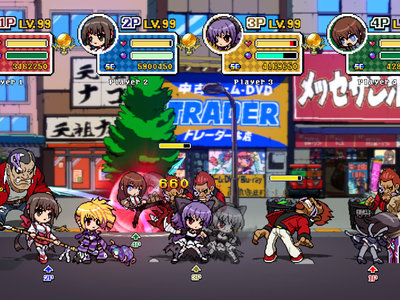 El beat'em up Phantom Breaker: Battle Grounds Overdrive confirma a puñetazos que llegará a Switch esta semana