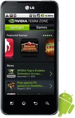Nvidia Tegra Zone pasa los seis millones de descargas