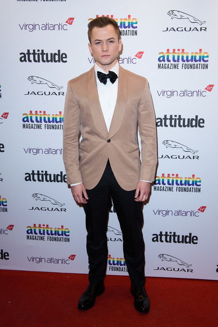 Taron Egerton Attitude Awards 2019 Red Carpet London