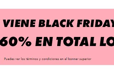 Black Friday en Asos, hasta el 60% de descuento en miles de prendas