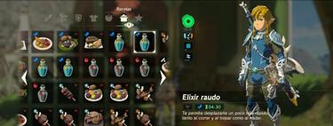 Las 6 recetas imprescindibles de The Legend of Zelda: Breath of the Wild