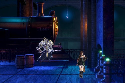 Guía de Bloodstained: Ritual of the Night: cómo pasar la barrera del tren en el Puente del Mal