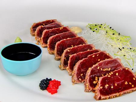 Tataki De Atun C Restaurante Casa Juan